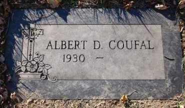 COUFAL, ALBERT D. - Douglas County, Nebraska | ALBERT D. COUFAL - Nebraska Gravestone Photos