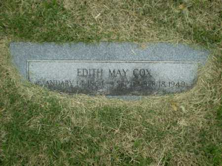 COX, EDITH MAY - Douglas County, Nebraska | EDITH MAY COX - Nebraska Gravestone Photos