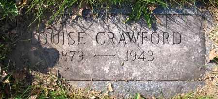 CRAWFORD, HANNAH LOUISE - Douglas County, Nebraska | HANNAH LOUISE CRAWFORD - Nebraska Gravestone Photos