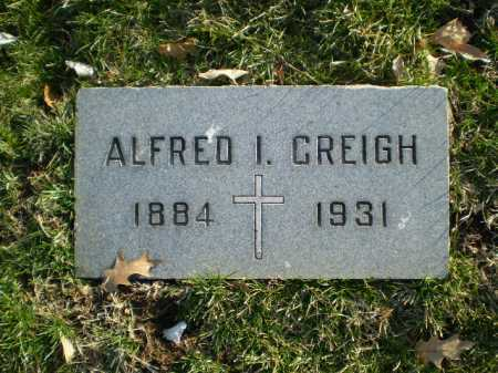 CREIGH, ALFRED I. - Douglas County, Nebraska   ALFRED I. CREIGH - Nebraska Gravestone Photos