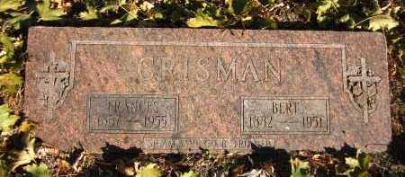 CRISMAN, FRANCES - Douglas County, Nebraska | FRANCES CRISMAN - Nebraska Gravestone Photos