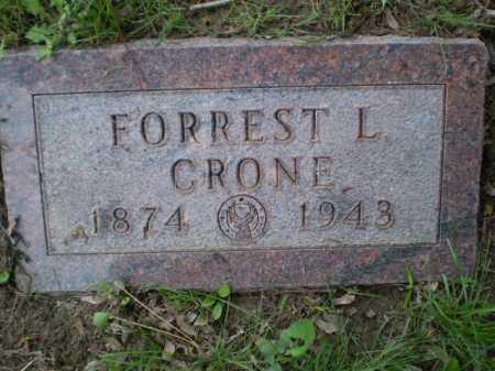 CRONE, FORREST L - Douglas County, Nebraska   FORREST L CRONE - Nebraska Gravestone Photos