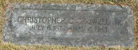 CROWELL, CHRISTOPHER C., JR. - Douglas County, Nebraska | CHRISTOPHER C., JR. CROWELL - Nebraska Gravestone Photos