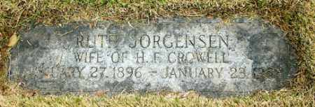 CROWELL, RUTH - Douglas County, Nebraska | RUTH CROWELL - Nebraska Gravestone Photos