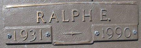 CROWL, RALPH E. (CLOSE UP) - Douglas County, Nebraska | RALPH E. (CLOSE UP) CROWL - Nebraska Gravestone Photos