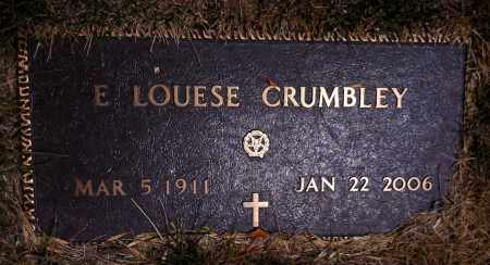 FLETCHER CRUMBLEY, EMMA LOUISE - Douglas County, Nebraska | EMMA LOUISE FLETCHER CRUMBLEY - Nebraska Gravestone Photos