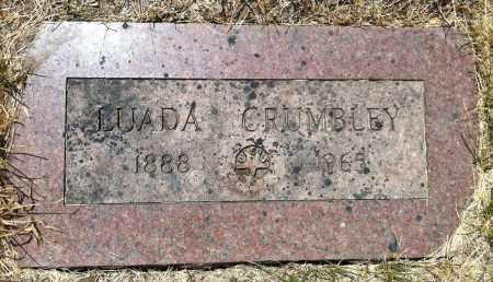 CRUMBLEY, LUADA - Douglas County, Nebraska   LUADA CRUMBLEY - Nebraska Gravestone Photos