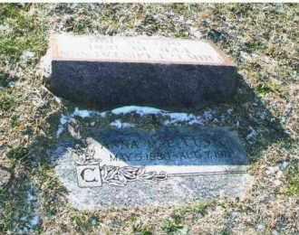 CUSTER, ANNA MAE - Douglas County, Nebraska | ANNA MAE CUSTER - Nebraska Gravestone Photos