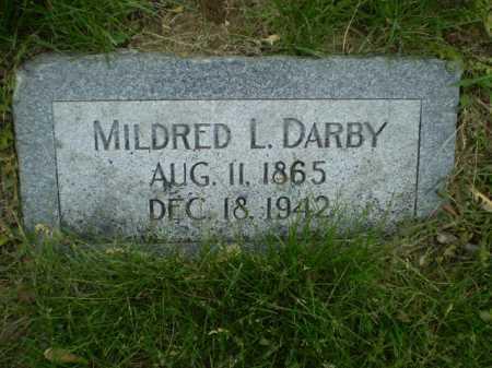 DARBY, MILDRED L - Douglas County, Nebraska   MILDRED L DARBY - Nebraska Gravestone Photos