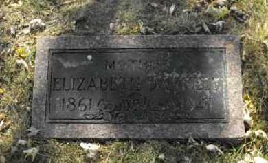 DARNELL, ELIZABETH - Douglas County, Nebraska | ELIZABETH DARNELL - Nebraska Gravestone Photos