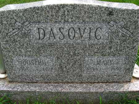 DASOVIC, MARY - Douglas County, Nebraska | MARY DASOVIC - Nebraska Gravestone Photos