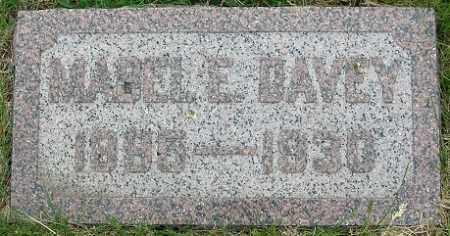 DAVEY, MABEL E. - Douglas County, Nebraska | MABEL E. DAVEY - Nebraska Gravestone Photos