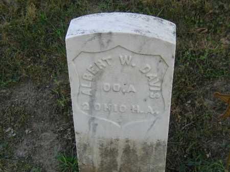 DAVIS, ALBERT W - Douglas County, Nebraska | ALBERT W DAVIS - Nebraska Gravestone Photos
