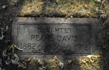 DAVIS, PEARL - Douglas County, Nebraska | PEARL DAVIS - Nebraska Gravestone Photos