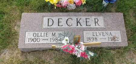 DECKER, OLLIE M. - Douglas County, Nebraska   OLLIE M. DECKER - Nebraska Gravestone Photos
