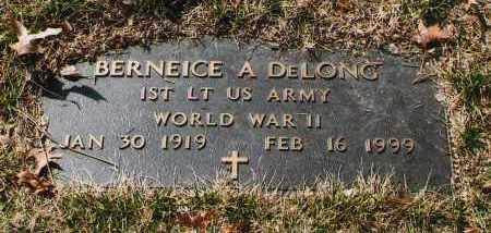 DELONG, BERNEICE A. - Douglas County, Nebraska | BERNEICE A. DELONG - Nebraska Gravestone Photos