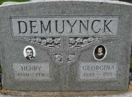 DEMUYNCK, HENRY - Douglas County, Nebraska | HENRY DEMUYNCK - Nebraska Gravestone Photos