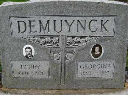 DEMUYNCK, GEORGINA - Douglas County, Nebraska | GEORGINA DEMUYNCK - Nebraska Gravestone Photos