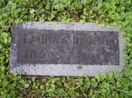 DENISON, LAURA ANN - Douglas County, Nebraska | LAURA ANN DENISON - Nebraska Gravestone Photos