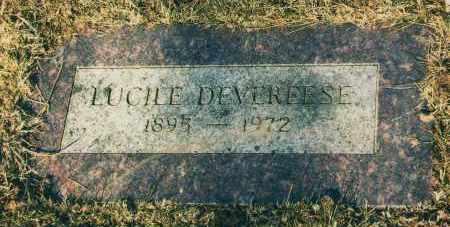 DEVEREESE, LUCILE - Douglas County, Nebraska | LUCILE DEVEREESE - Nebraska Gravestone Photos
