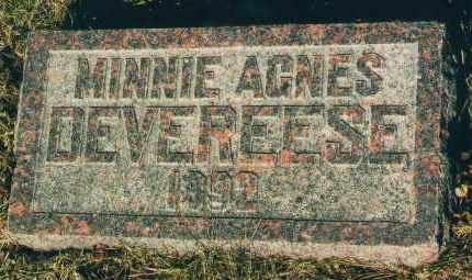 DEVEREESE, MINNIE A. - Douglas County, Nebraska | MINNIE A. DEVEREESE - Nebraska Gravestone Photos