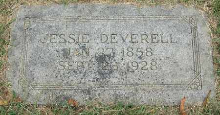 YARNOLD DEVERELL, JESSIE - Douglas County, Nebraska | JESSIE YARNOLD DEVERELL - Nebraska Gravestone Photos