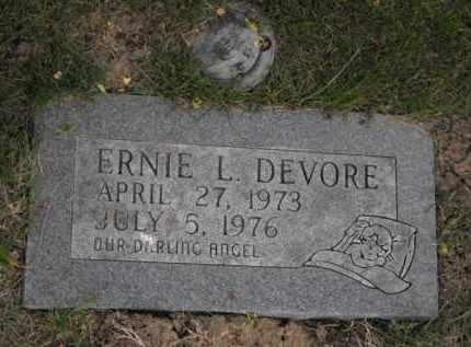 DEVORE, ERNIE L. - Douglas County, Nebraska | ERNIE L. DEVORE - Nebraska Gravestone Photos