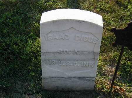 DICUS, ISAAC - Douglas County, Nebraska | ISAAC DICUS - Nebraska Gravestone Photos