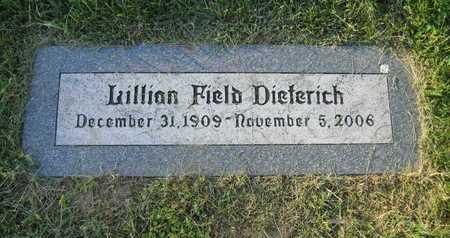 DIETERICH, LILLIAN - Douglas County, Nebraska | LILLIAN DIETERICH - Nebraska Gravestone Photos