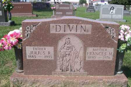 DIVIN, FRANCES M. - Douglas County, Nebraska   FRANCES M. DIVIN - Nebraska Gravestone Photos