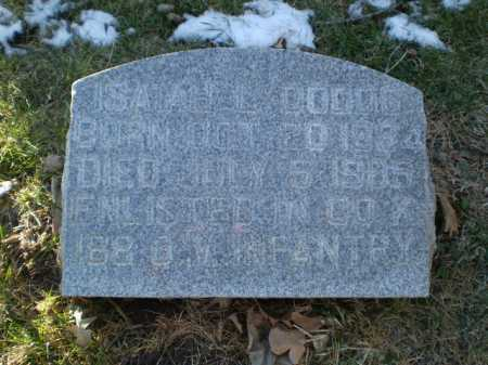 DODDS, ISAIAH L. - Douglas County, Nebraska   ISAIAH L. DODDS - Nebraska Gravestone Photos
