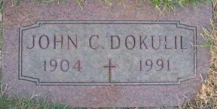 DOKULIL, JOHN C. - Douglas County, Nebraska | JOHN C. DOKULIL - Nebraska Gravestone Photos