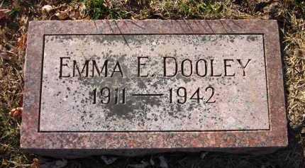 DOOLEY, EMMA E. - Douglas County, Nebraska   EMMA E. DOOLEY - Nebraska Gravestone Photos