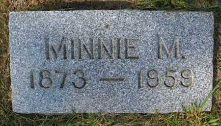DOTY, MINNIE M. - Douglas County, Nebraska | MINNIE M. DOTY - Nebraska Gravestone Photos