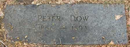 DOW, PETER - Douglas County, Nebraska   PETER DOW - Nebraska Gravestone Photos