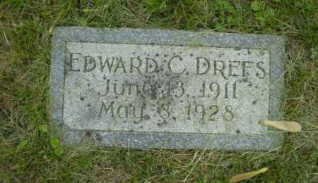 DREFS, EDWARD C. - Douglas County, Nebraska | EDWARD C. DREFS - Nebraska Gravestone Photos