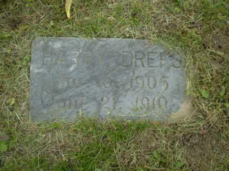 DREFS, HARRY W. - Douglas County, Nebraska | HARRY W. DREFS - Nebraska Gravestone Photos