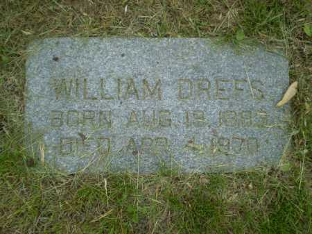 DREFS, WILLIAMS J. - Douglas County, Nebraska | WILLIAMS J. DREFS - Nebraska Gravestone Photos
