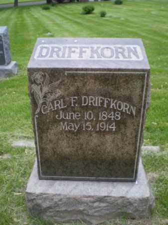 DRIFFKORN, CARL F. - Douglas County, Nebraska | CARL F. DRIFFKORN - Nebraska Gravestone Photos