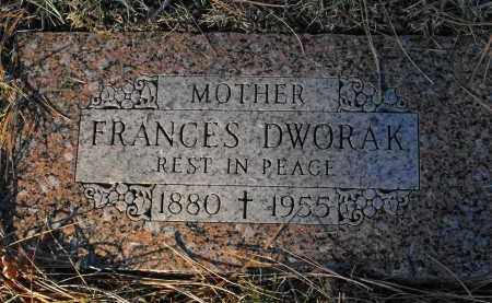 DWORAK, FRANCES - Douglas County, Nebraska | FRANCES DWORAK - Nebraska Gravestone Photos
