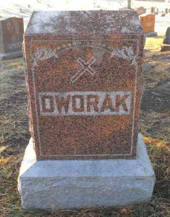 DWORAK, FAMILY MONUMENT - Douglas County, Nebraska | FAMILY MONUMENT DWORAK - Nebraska Gravestone Photos