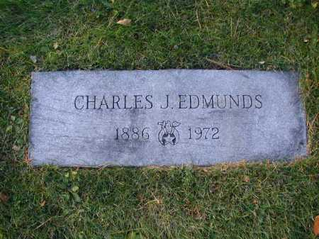 EDMUNDS, CHARLES J. - Douglas County, Nebraska | CHARLES J. EDMUNDS - Nebraska Gravestone Photos