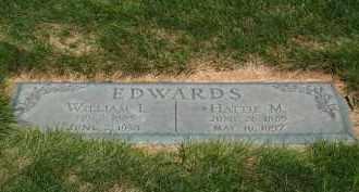 EDWARDS, HATTIE - Douglas County, Nebraska | HATTIE EDWARDS - Nebraska Gravestone Photos