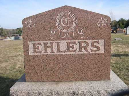 EHLERS, FAMILY - Douglas County, Nebraska | FAMILY EHLERS - Nebraska Gravestone Photos
