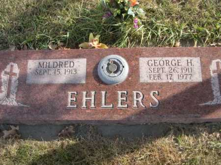 EHLERS, MILDRED - Douglas County, Nebraska | MILDRED EHLERS - Nebraska Gravestone Photos