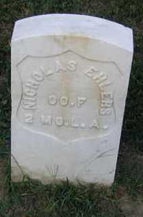 EHLERS, NICHOLAS - Douglas County, Nebraska   NICHOLAS EHLERS - Nebraska Gravestone Photos