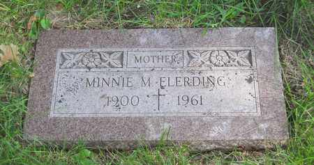 ELERDING, MINNIE M. - Douglas County, Nebraska | MINNIE M. ELERDING - Nebraska Gravestone Photos