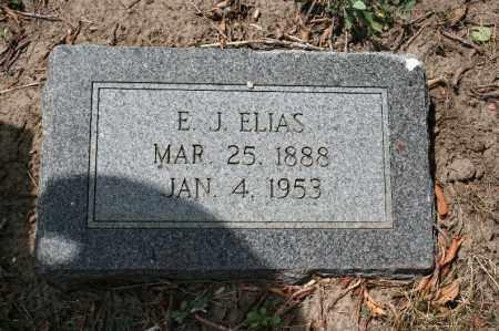ELIAS, E.J. - Douglas County, Nebraska | E.J. ELIAS - Nebraska Gravestone Photos