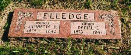 ELLEDGE, DANIEL E. - Douglas County, Nebraska   DANIEL E. ELLEDGE - Nebraska Gravestone Photos