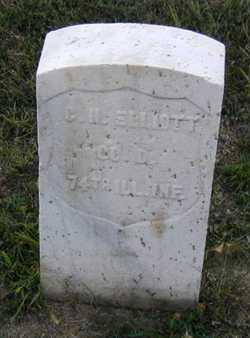 ELLIOTT, CHARLES HENRY - Douglas County, Nebraska   CHARLES HENRY ELLIOTT - Nebraska Gravestone Photos